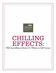 Chilling Effects Report