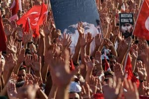 Free Expression Demonstrations in Turkey
