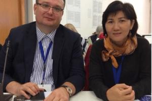 Central Asia PEN center representatives