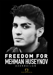 Freedom for Mehman Huseynov poster