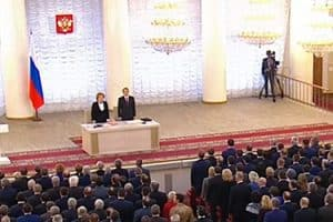 interior of russian parliament