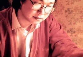 Gui Minhai writing