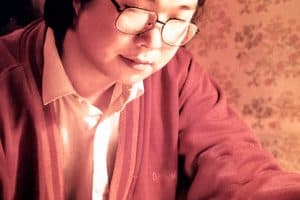 Gui Minhai writing