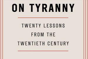 """On Tyranny"" event graphic"