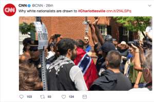 CNN Tweet: Why white nationalists are drawn to #Charlottesville