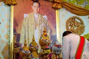 Portrait of Thailand King