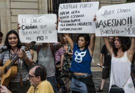 Javier Duarto Protest