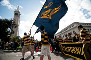 UC Berkely Flag Carriers