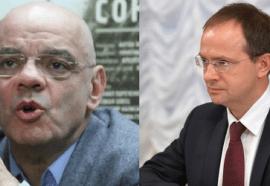 Konstantin Raikin and Vladimir Medinksy