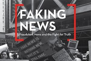Faking News report cover