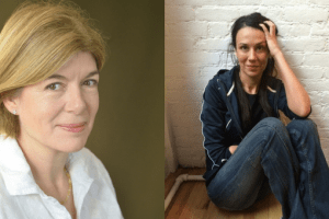 Headshots of Rivka Galchen and Claire Messud