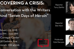 Covering a Crisis event graphic