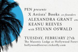 PEN Presents X Artists Books