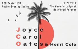 PEN Presents: Joyce Carol Oates and Henri Cole