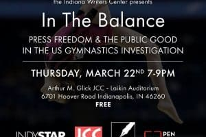 In the Balance: Press Freedom and the Public Good in the US Gymnastics Investigation event graphic