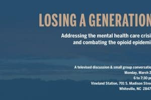 Losing a Generation event graphic