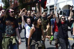 UVA student protestors