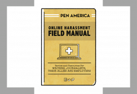 Online Harassment Field Manual