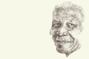 Illustration of Nelson Mandela