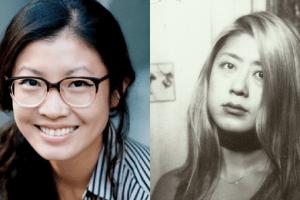 Headshots of Jenny Zhang and Weike Wang