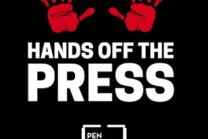 Hands off the press