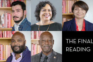 Headshots of the Final Reading Emerging Voices