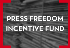 Press Freedom Incentive Fund button