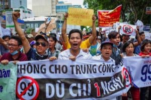 Vietnam SEZ Economic Zones Protest