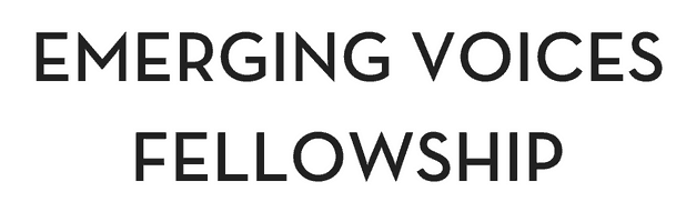 """Text that reads, """"Emerging Voices Fellowship"""""""