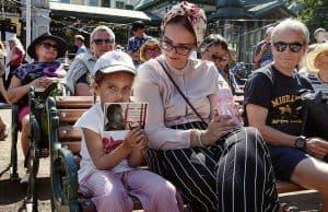 Girl Holding Free Oleg Sentsov Postcard