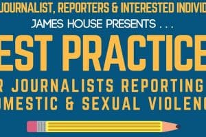 Flyer For Best Practices Reporting On Domestic And Sexual Violence