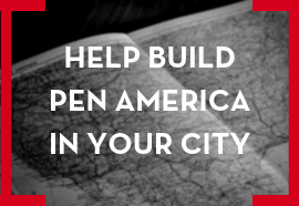 Help Build PEN America in Your city button