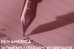 Women's Literary Workshop 10.11.18