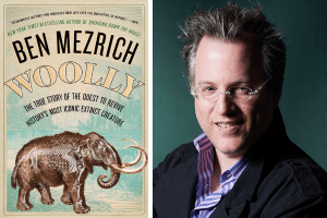 Cover of Woolly and Ben Mezrich headshot
