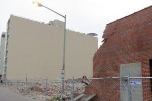 photo of crumbling buildings