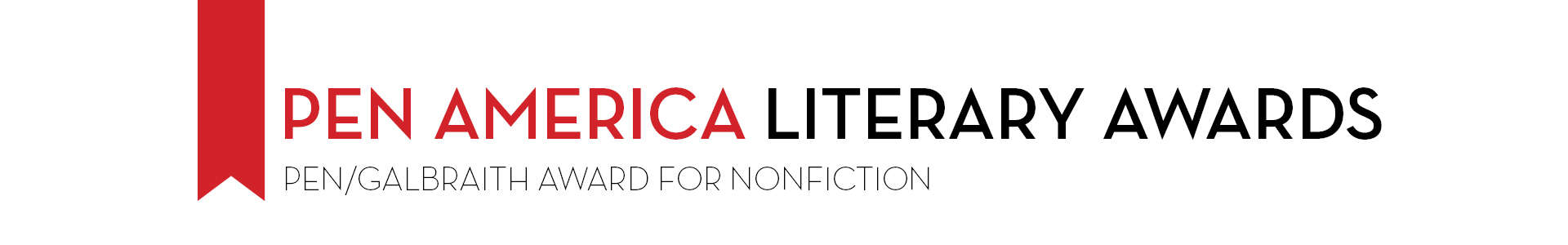 PEN America Literary Awards PEN/Galbraith Award for Nonfiction