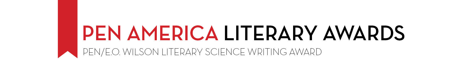 PEN America Literary Awards PEN/E.O. Wilson Literary Science Writing Award