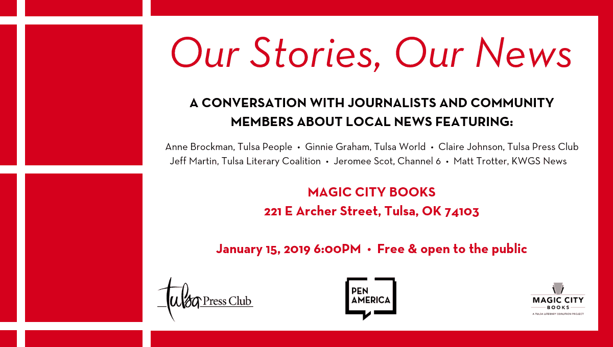 Our Stories, Our News: A Conversation with Local Journalists