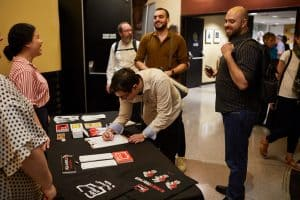 Membership Table At On Fascism Event