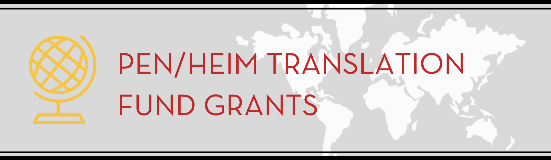 PEN/Heim Translation Fund Grants