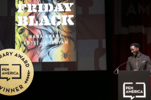 PEN America Literary Awards winner Nana Kwame Adjei-Brenyah