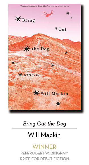 2019 Bingham Winner: Bring Out the Dog