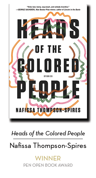 2019 Open Book Winner: Heads of the Colored People