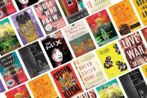 collage of book covers for the Intersectional Identity recommended reading list