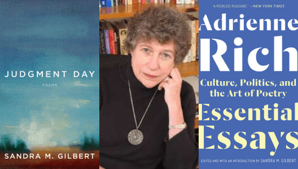 book covers of judgment day by Sandra M. Gilbert and Adrienne Rich: Essential Essays