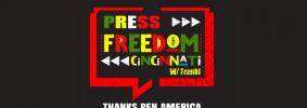 Press Freedom Cincinnati with Franki, Thanks PEN America