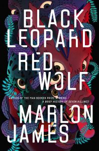 cover for Black Leopard, Red Wolf by Marlon James