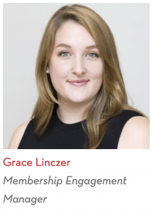 Grace Linczer, Membership Engagement Manager