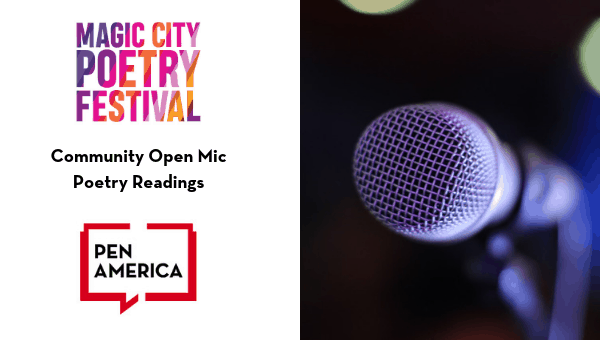 Magic City Poetry Festival: Community Open Mic Image