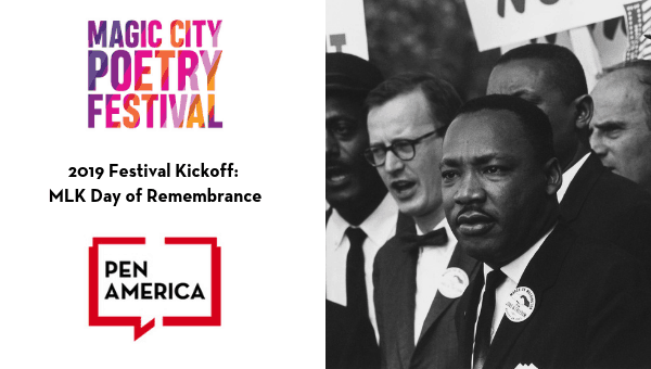 2019 Magic City Poetry Festival Kickoff MLK Remembrance